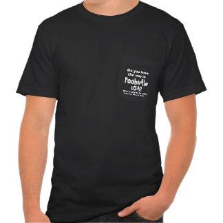 Camiseta oficial del bolsillo para Poohville, los