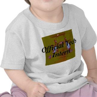 Camiseta oficial del interno 2 de la tecnología pa