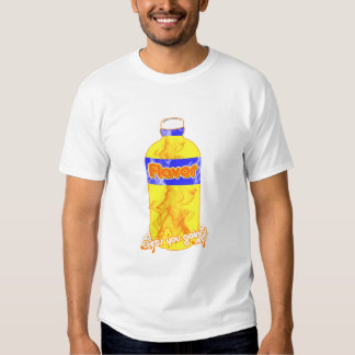 """Camiseta oficial del logotipo del """"sabor"""" playeras"""
