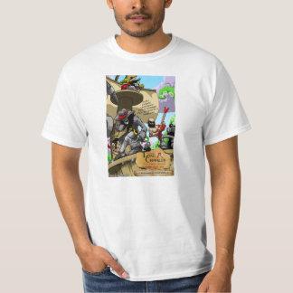 Camiseta oficial del poster del arte de la remera