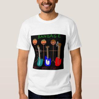 Camiseta oficialmente autorizada del vendaje playeras