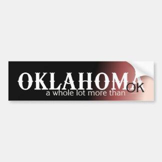 CAMISETA Oklahoma Pegatina Para Auto