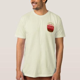 Camiseta orgánica auténtica remeras