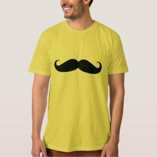 Camiseta orgánica de Dijon del bigote de los Polera