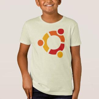 Camiseta orgánica de Ubuntu del niño