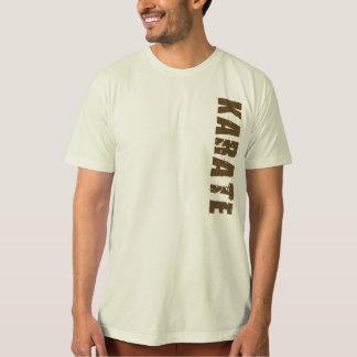 Camiseta orgánica del karate