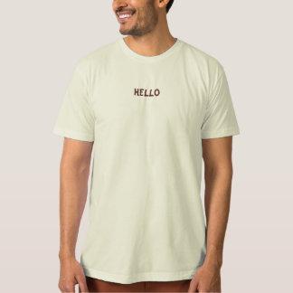 Camiseta orgánica para hombre remeras