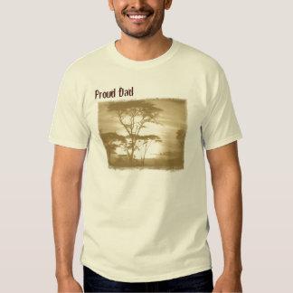 Camiseta orgullosa de la adopción del papá - remeras
