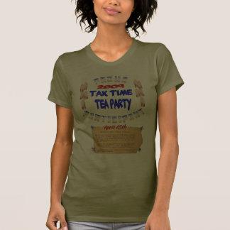 Camiseta orgullosa de la camiseta del participante poleras