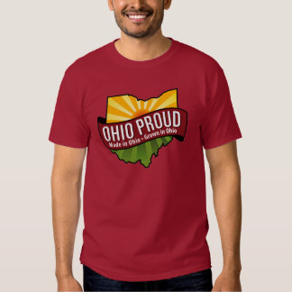 Camiseta orgullosa de Ohio Polera