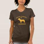 Camiseta orgullosa del dogo francés del padre