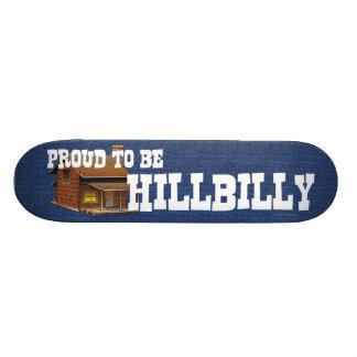 CAMISETA orgullosa ser Hillbilly Skate Boards