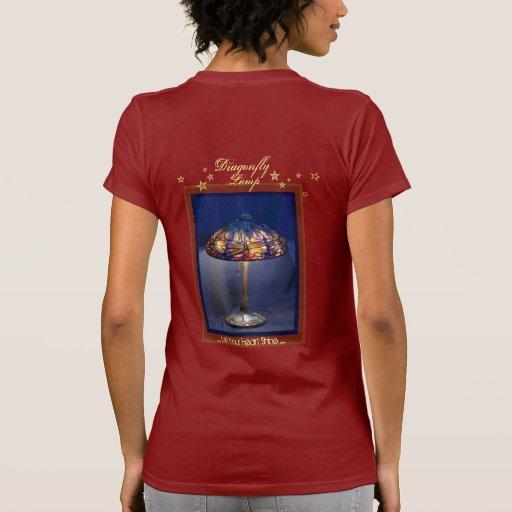 Camiseta original de la moda de la lámpara clásica