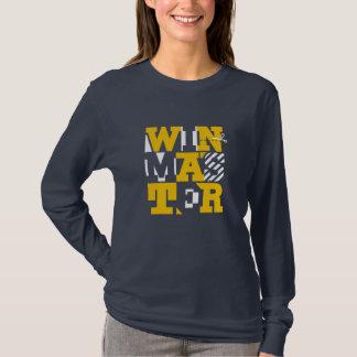 camiseta original de la tipografía del winmaster