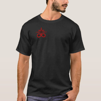 Camiseta oscura 666