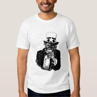 Camiseta (oscura) anti del gobierno polera