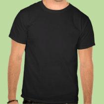 Camiseta oscura árabe de la paz playeras