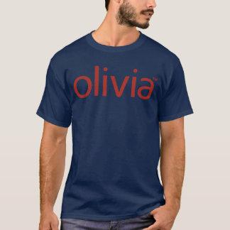 Camiseta oscura básica clásica de Olivia