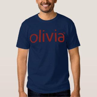 Camiseta oscura básica clásica de Olivia Playera