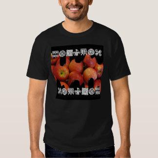 Camiseta oscura básica de APPPLE, negra Playeras