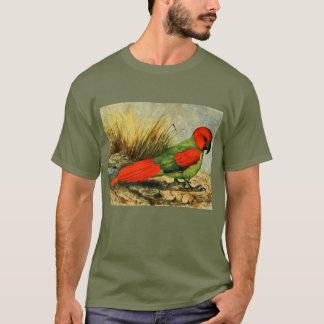 Camiseta oscura básica de Necropsittacus
