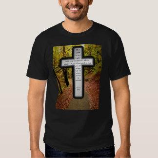 Camiseta oscura básica del 27:1 del salmo playera