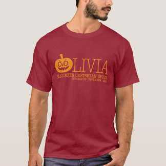 """Camiseta oscura básica del """"truco o de la"""
