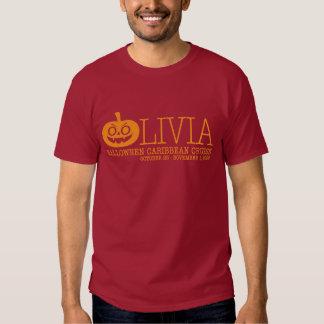 """Camiseta oscura básica del """"truco o de la remeras"""