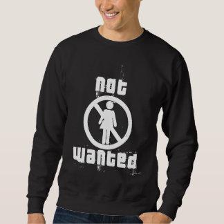 Camiseta oscura básica no querida de los chicas suéter