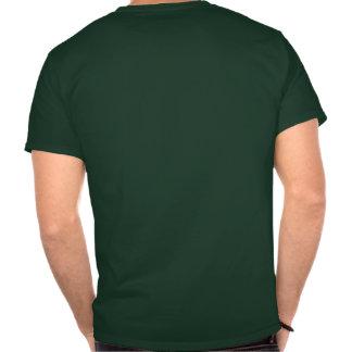 Camiseta oscura básica trasera del juez de línea