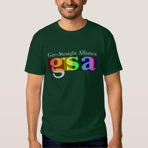 Camiseta oscura clásica de GSA Playera