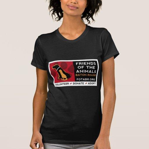 Camiseta oscura de FOTABR - imagen delantera Poleras