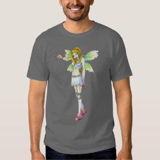 Camiseta oscura de hadas del arte de la fantasía remeras