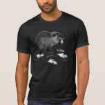 Camiseta (oscura) de Nutria Remera