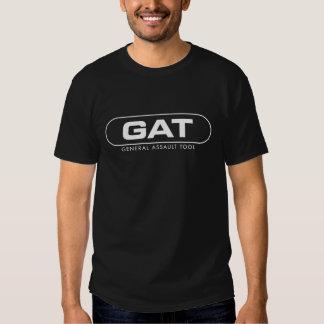 Camiseta oscura del logotipo de Echo1USA GAT Remera
