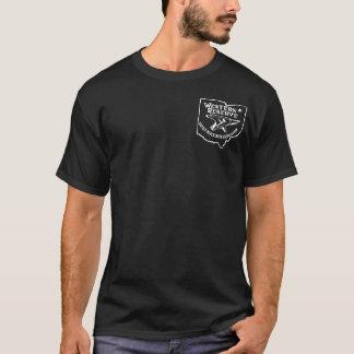 Camiseta oscura del logotipo de WRABA