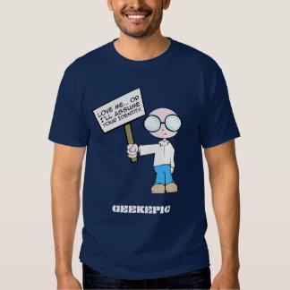 Camiseta oscura para hombre camisas