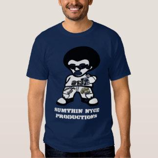 Camiseta oscura para hombre playera