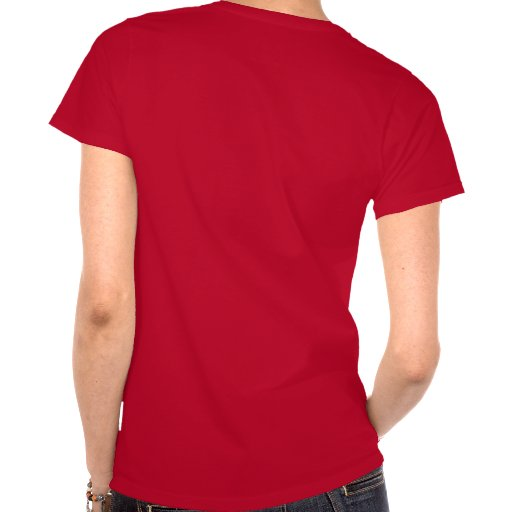 Camiseta oscura tórrida de la esposa del arma