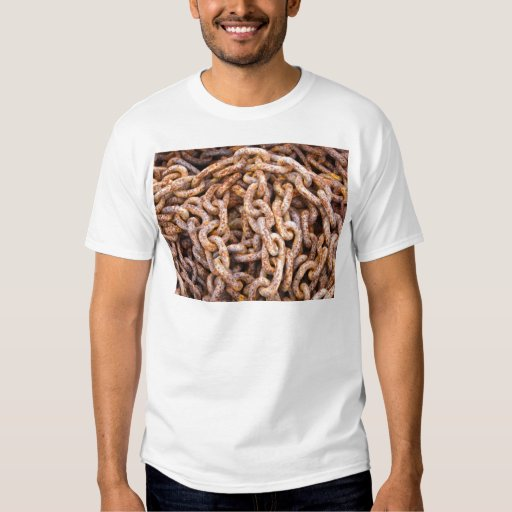 Camiseta oxidada de los vínculos camisas
