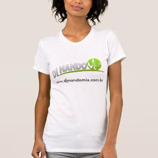Camiseta p Mulher - mezcla de DJ Nando Remera