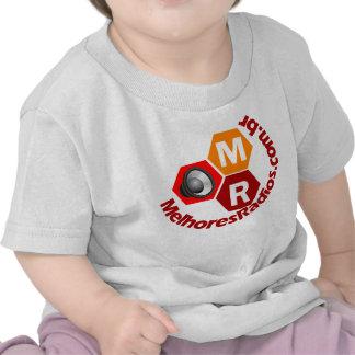 Camiseta para bebê do portal Melhores Rádios