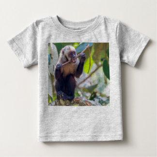 Camiseta para Bebé- Mono Capuchino Playera