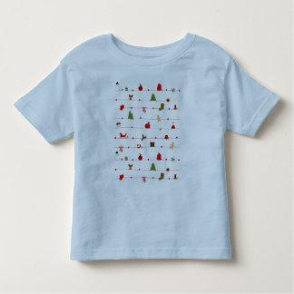 "Camiseta para bebês ""Christmas"""