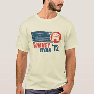 Camiseta para hombre 2012 del vintage de Romney
