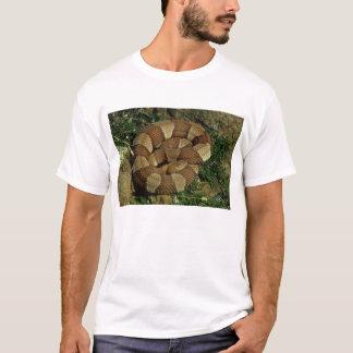 camiseta para hombre amplio-congregada de la
