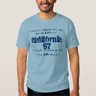 Camiseta para hombre básica (azul del dril de polera