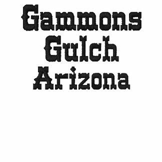 Camiseta para hombre bordada quebrada de los Gammo