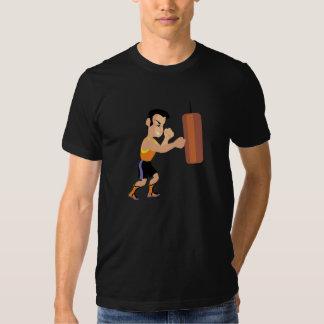 Camiseta para hombre de encajonamiento poleras