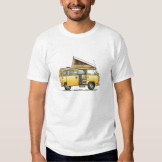 Camiseta para hombre de la autocaravana de playera